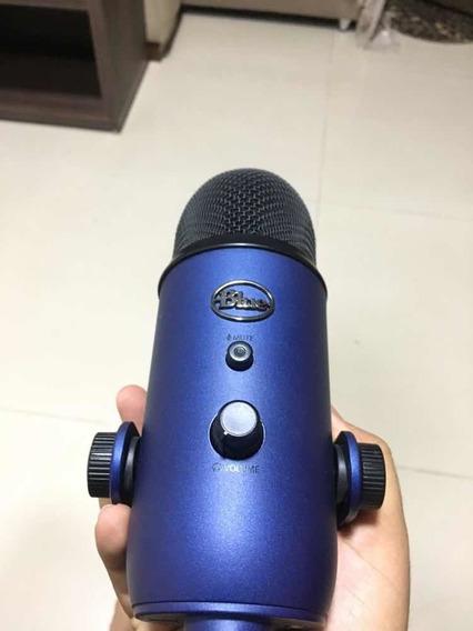 Microfone Condensador Blue Yeti Usb Profissional