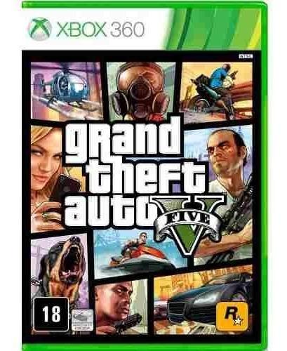 Grand Theft Auto V Gta 5 Xbox 360 Mídia Física Em Português