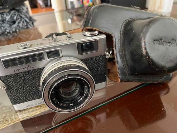 Camera Fotográfica Minolta - S