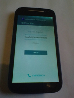 Telefono Motorola Verizon Moto E 2da Gen Xt1528 Con Detalle