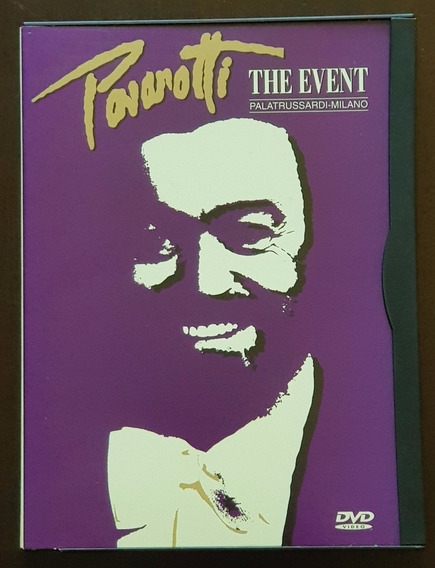 Dvd Luciano Pavarotti - The Event Snap Case