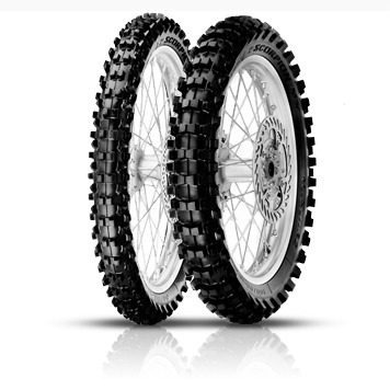 Imagen 1 de 3 de Cubierta Pirelli Scorpion Mx Midsoft 32 120 80 19 Trasera