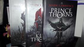 Coleção Trilogia Dos Espinhos - Completo