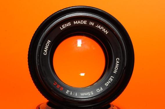 Canon Fd Ssc 55mm F:1.2 + Adaptador Fd - Sony Nex Fuji Eosm