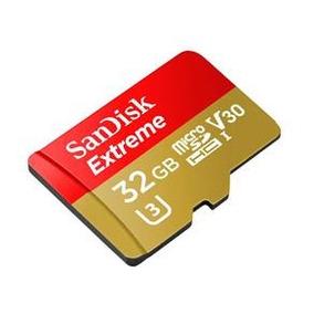 Cartão Memória Sandisk Extreme Microsdhc 32gb Uhs-i Classe 3