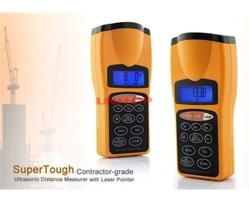 Medidor De Distancia Ultrasonico Laser Distanciometro