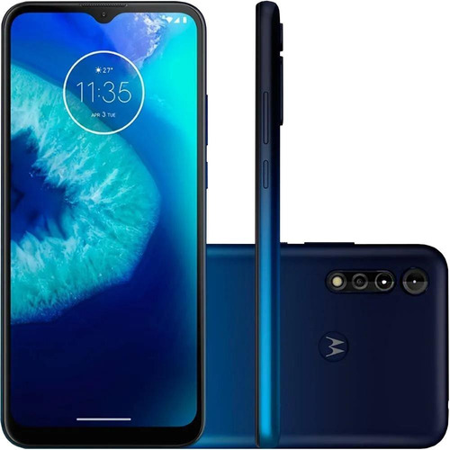 Celular Motorola Moto G8 Power Lite Azul Marinho 64gb