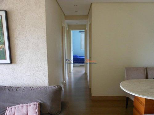 Imagem 1 de 17 de Apartamento Com 3 Dormitórios À Venda, 88 M² Por R$ 780.000 - Vila Monumento - Prop Starter Adm.imóveis - Ap0176