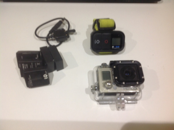 Gopro Hero 3 + 03 Baterias + Controle Bluetooth