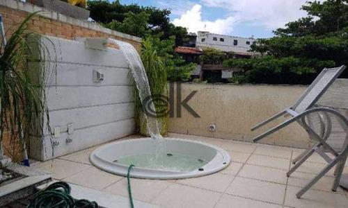 Venda Casa Triplex - Jardim Oceânico - Barra Da Tijuca - Zona Oeste - Rj - 6067