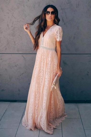 Hermoso Vestido De Día Soleado