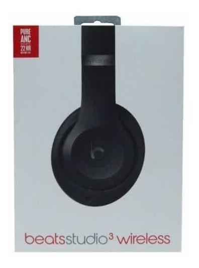 Fone Beats By Dre Studio 3 Wireless Black Matte