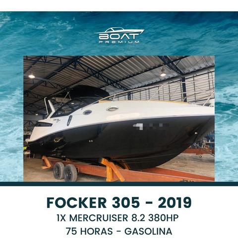 Imagem 1 de 7 de Focker 305, 2019, 1x Mercruiser 8.2 380hp - Colunna - Nx