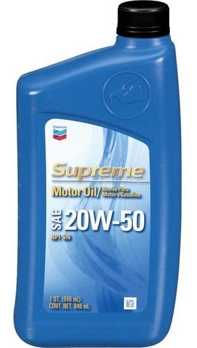 Aceite Multigrados Supreme 20w50