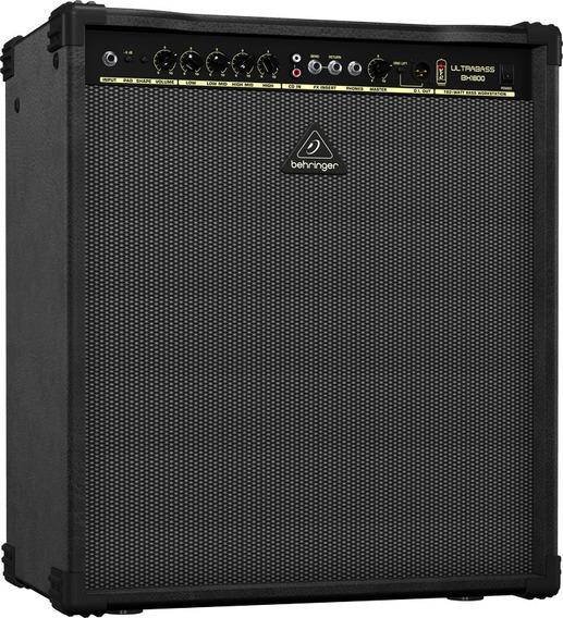 Amplificador De Bajo Behringer Ultrabass Bx1800 180w