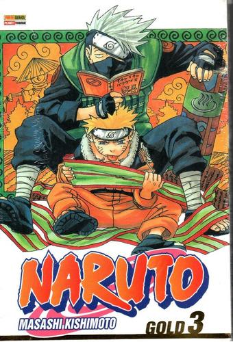 Naruto Gold 03 - Nova Versao - Panini 3 - Bonellihq X20