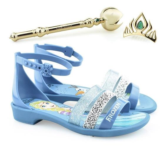 Sandália Infantil Frozen Royal Fantasy 21834