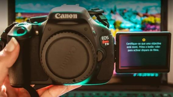 Camera Canon T3i (corpo)