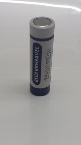 Bateria 18650 Recarregável 3.7v 2200 Mah Gimex