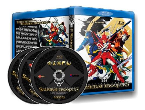 Samurai Warriors - Serie Blu-ray Completo Dublado.