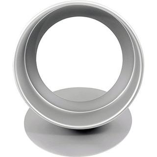 Grasa Daddio Anodizado De Aluminio Round Cheesecake Pan, 8 P
