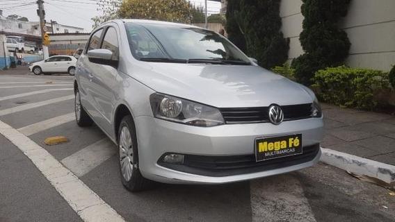 Volkswagen Gol 1.6 Flex 12v 5p Completo Prata 2016