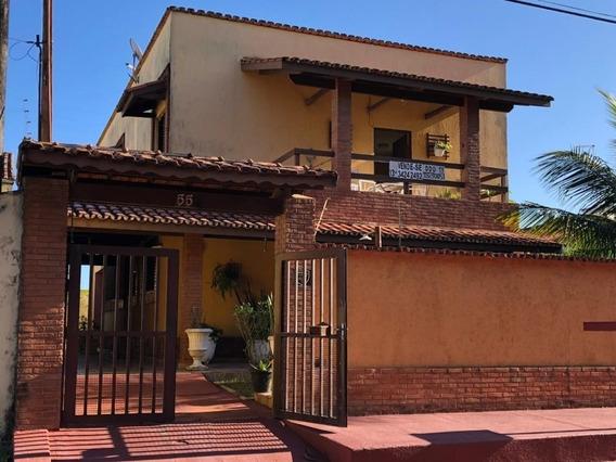 Casa Com 4 Quartos No Litoral À 20 Metros Do Mar - Itanhaém