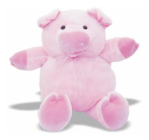 Pelúcia Porca Pig - Porquinha - Animais Fazenda - Soft Toys