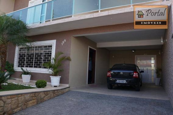 Casa Com 4 Dormitórios À Venda, 355 M² Por R$ 850.000 - Vila Cardoso - Campo Limpo Paulista/sp - Ca0468