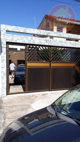 Casa À Venda, 80 M² Por R$ 330.000,00 - Vilamar - Praia Grande/sp - Ca1402