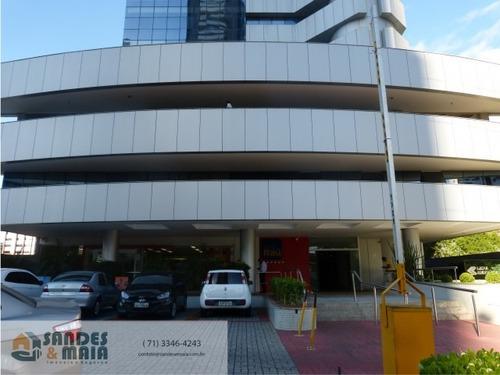 Imagem 1 de 5 de Sala Comercial Área Nobre Salvador - Ba - Pituba - Salalena203_aluguel