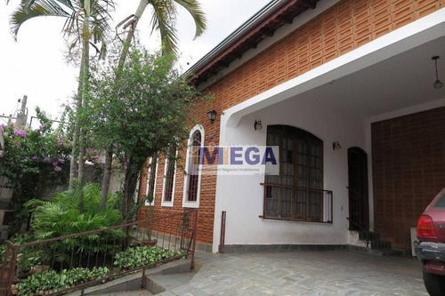 Imagem 1 de 30 de Casa Com 4 Dormitórios À Venda, 166 M²- Parque Brasília - Campinas/sp - Ca2354