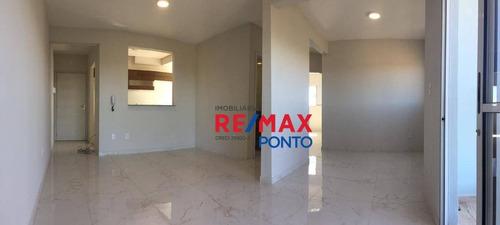 Apartamento Com 2 Dormitórios Para Alugar, 68 M² Por R$ 800,00/mês - Planalto Bela Vista - Mogi Mirim/sp - Ap0108