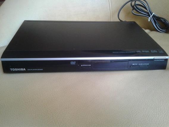 Dvd Toshiba Modelo Dvdplayer Sd3300 Usado.