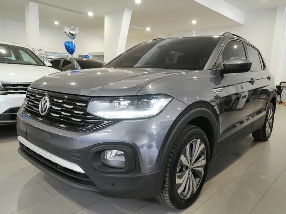 Volkswagen T-cross Comfortline 2020 Automatica Demo Gris