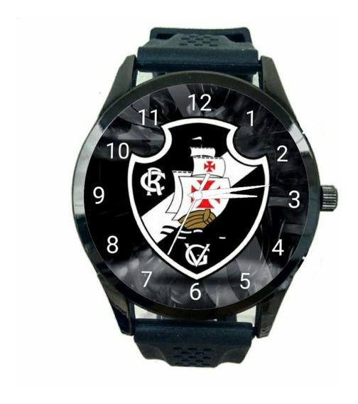 Relogio Personalizado Vasco Da Gama Masculino De Pulso Futebol Club Novo Escudo Time Jogo Esportivo T143