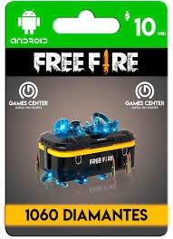 1060 Diamantes Free Fire