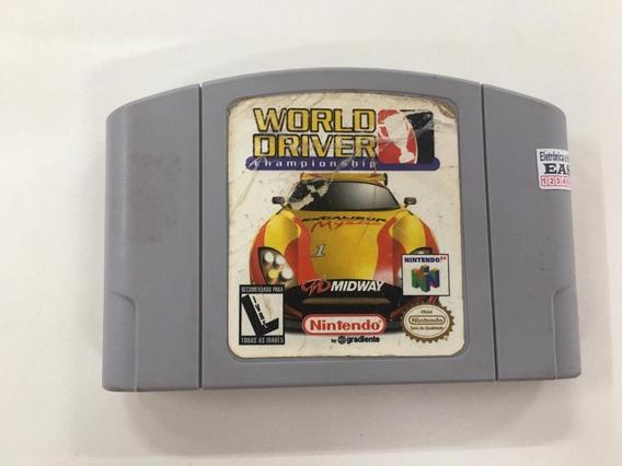 World Driver Championship Nintendo 64 Original