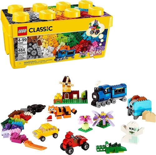 Lego Caja Ladrillo De 484 Fichas Classic 10696 Original