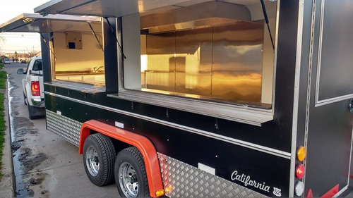 Food Truck Gastronomico Estilo Americano