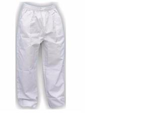 12 Calças Profissionais Branca Brim Pesado (5m,5g,2gg)
