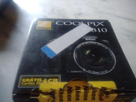 Máquina FotográficaNikon Coolpix L810Semi Nova Na Caixa