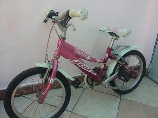 Bicicleta Atala, Italiana Para Niña