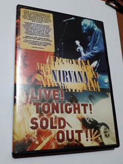 Nirvana Sold Out Dvd Conciertos