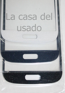 Vidrio Pantalla Samsung Galaxy S4 Mini Blanco, Negro O Azul