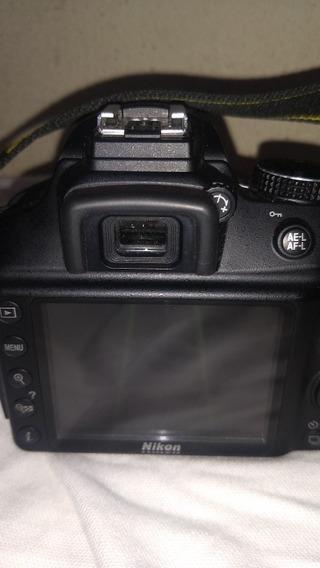 Nikon D3400 Três Lentes Como Nova Bolsa Carregador E Bateria