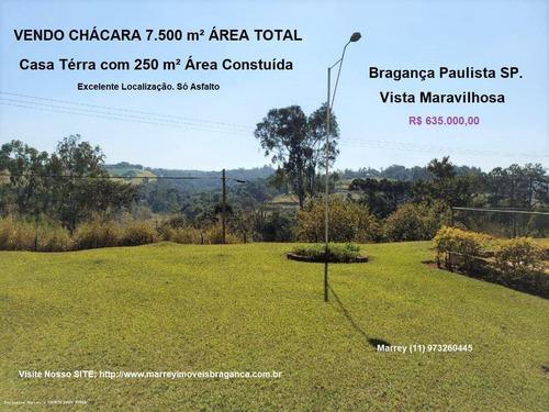 Imagem 1 de 15 de Sítio / Chácara Para Venda Em Bragança Paulista, Campo Novo, 3 Dormitórios, 3 Banheiros, 15 Vagas - 3051_1-1622053
