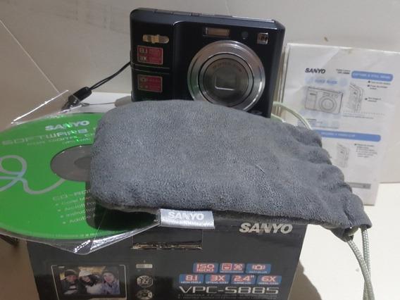 Camara Filmadora Digital Sanyo 8,1 Mpx Zoom 3 X