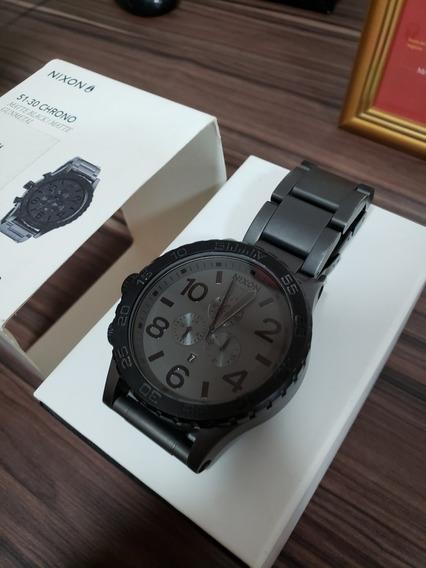 Relógio Original Nixon 51-30 Chrono Matte Black
