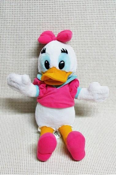 Margarida Pelucia ( Pato Donald ) Antigo Disney 30 Cm Bau